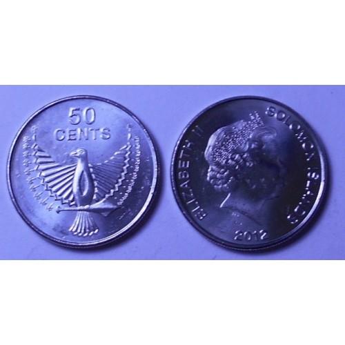 SOLOMON ISLANDS 50 Cents 2012