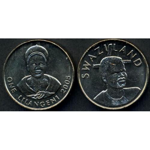 SWAZILAND 1 Lilangeni 2005