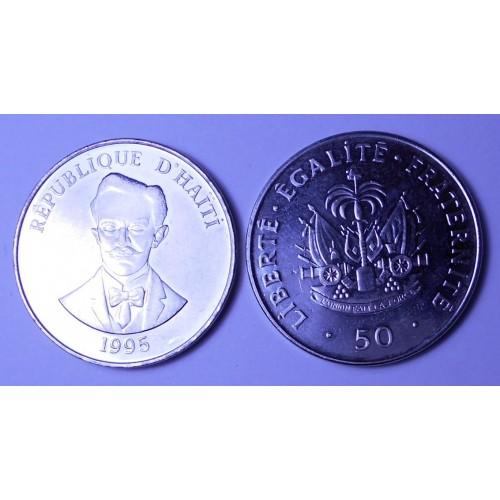HAITI 50 Centimes 1995 C....