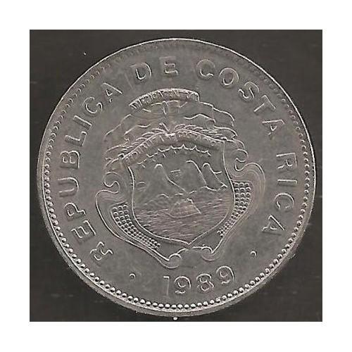 COSTA RICA 1 Colon 1989