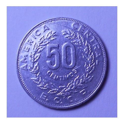 COSTA RICA 50 Centimos 1983