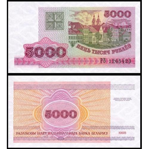 BELARUS 5000 Rublei 1998