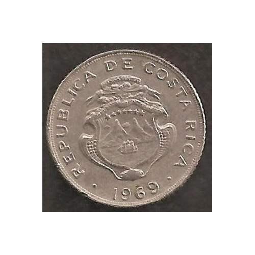 COSTA RICA 5 Centimos 1969