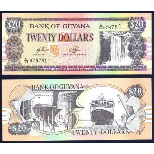 GUYANA 20 Dollars 2010