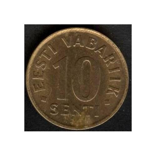 ESTONIA 10 SENTI 1991