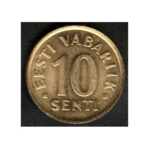ESTONIA 10 SENTI 1998