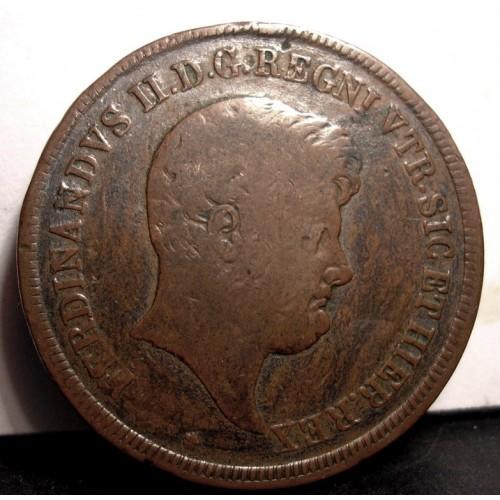 FERDINANDO II 5 TORNESI 1846