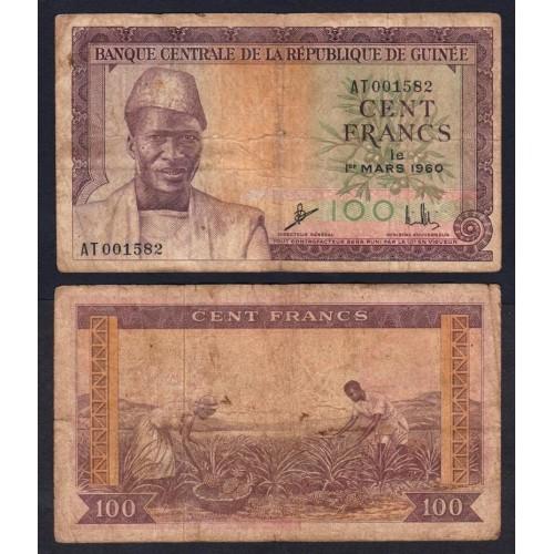 GUINEA 100 Francs 1960