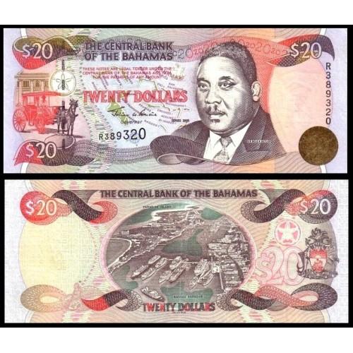 BAHAMAS 20 Dollars 2000