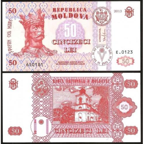 MOLDOVA 50 Lei 2013