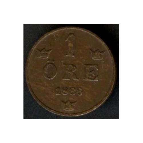 SWEDEN 1 Ore 1886