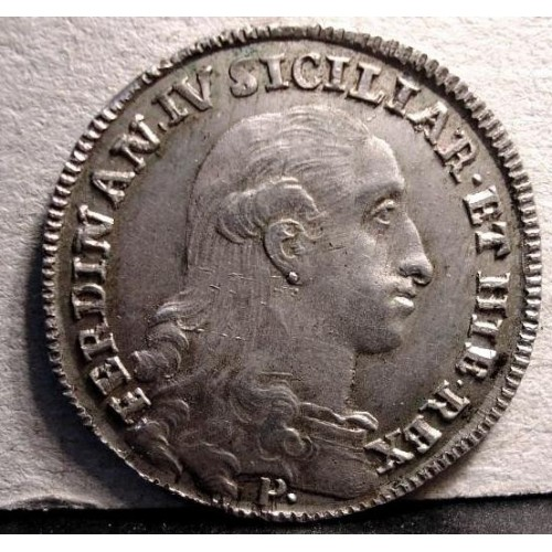 FERDINANDO IV TARI' 1795 AG