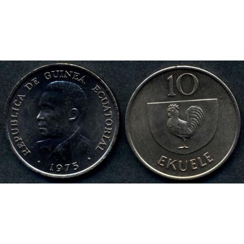EQUATORIAL GUINEA 10 Ekuele...