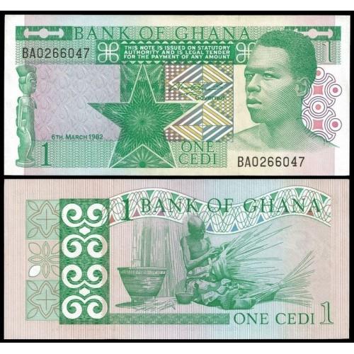 GHANA 1 Cedi 1982