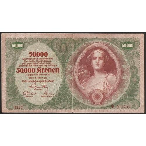 AUSTRIA 50.000 Kronen 1922