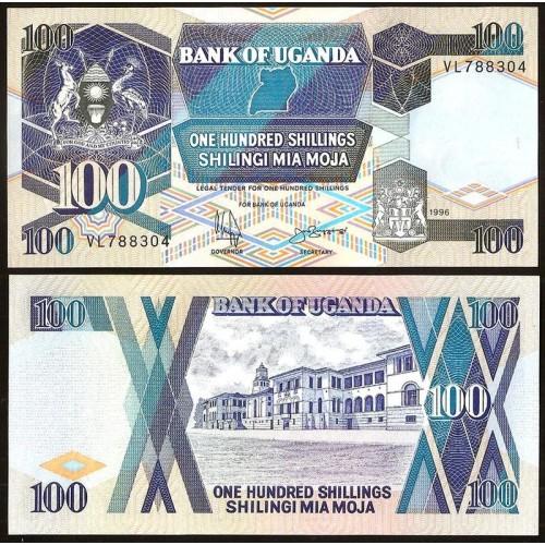 UGANDA 100 Shillings 1996