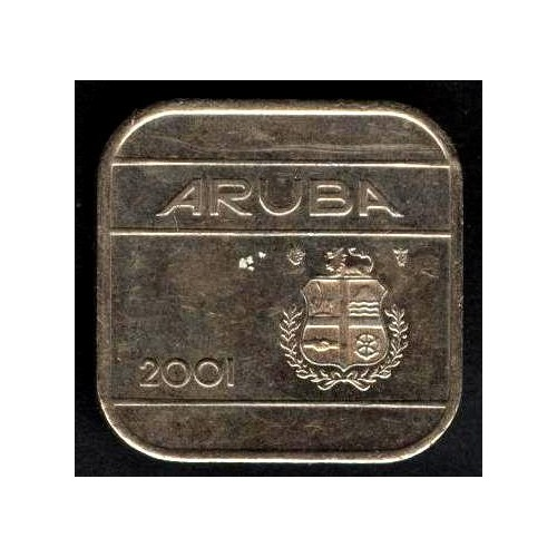 ARUBA 50 cents 2001