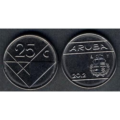 ARUBA 25 Cents 2012
