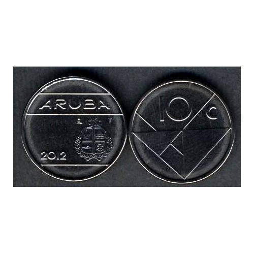 ARUBA 10 Cents 2012