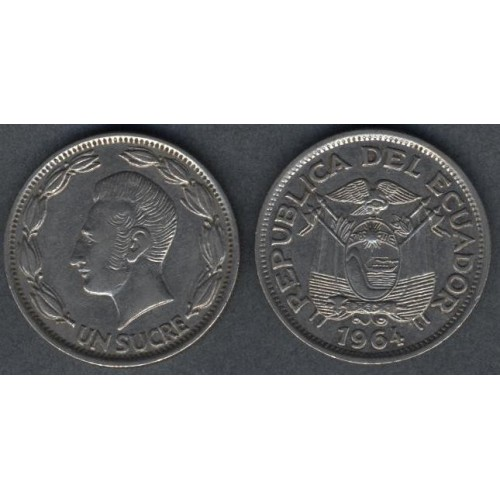 ECUADOR 1 Sucre 1964