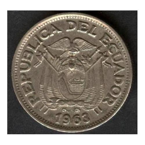 ECUADOR 50 Centavos 1963
