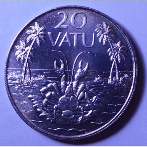 VANUATU 20 Vatu 1983