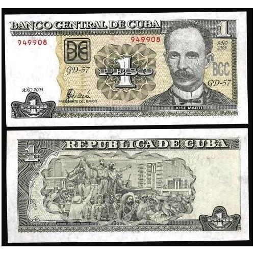 CUBA 1 Peso 2003