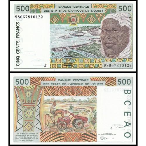 TOGO (W.A.S.) 500 Francs 1998