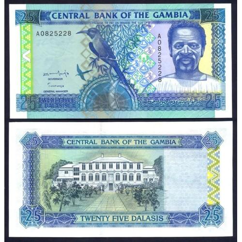 GAMBIA 25 Dalasis 1997
