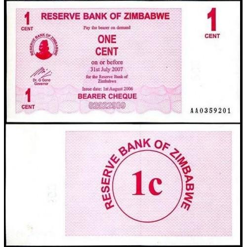 ZIMBABWE 1 Cent 2006