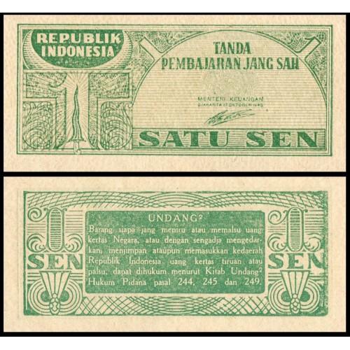 INDONESIA 1 Sen 1945