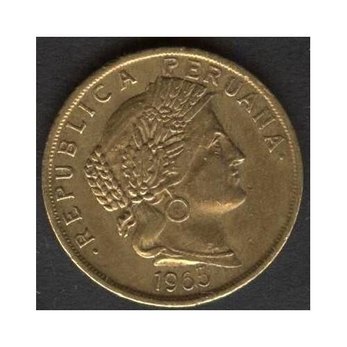 PERU 10 Centavos 1965