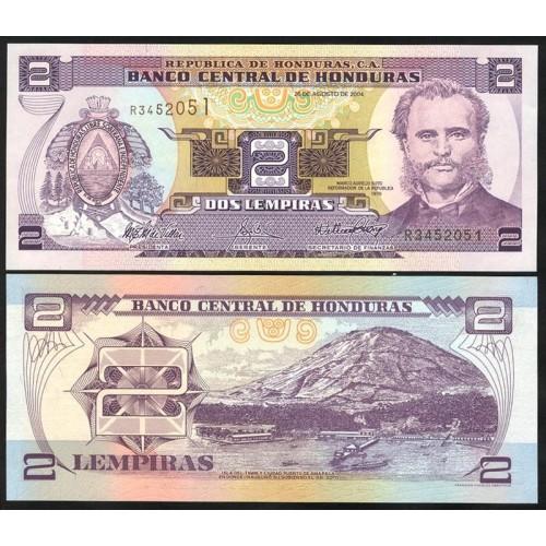HONDURAS 2 Lempiras 2004