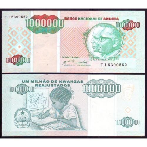 ANGOLA 1.000.000 Kwanzas...
