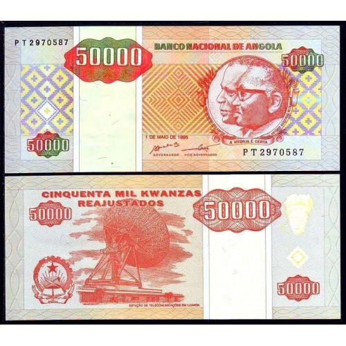 ANGOLA 50.000 Kwanzas...