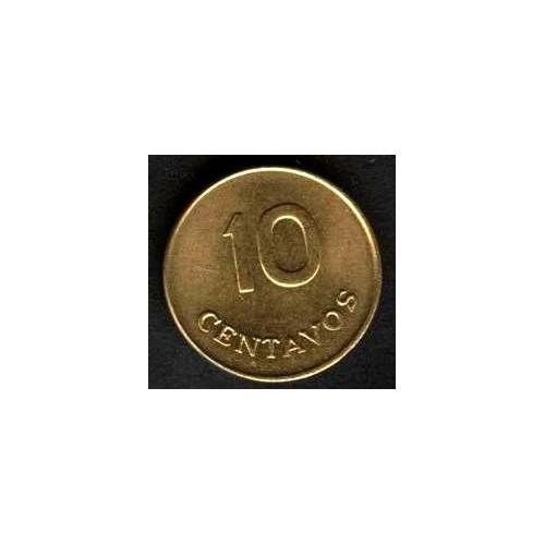 PERU 10 Centavos 1975