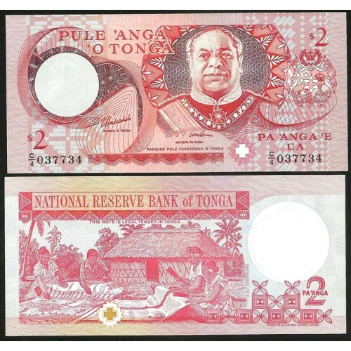 TONGA 2 Pa'anga 1995