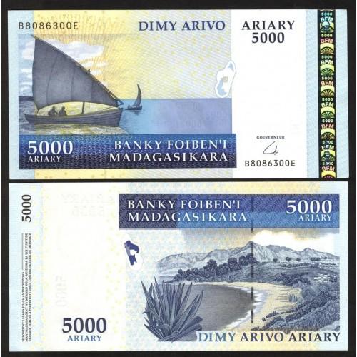 MADAGASCAR 5000 Ariary 2008