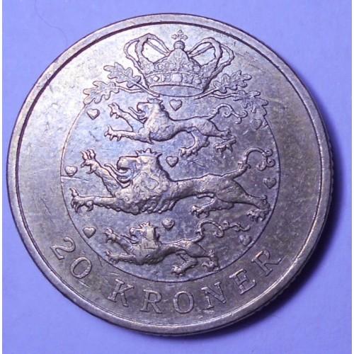 DENMARK 20 Kroner 2005