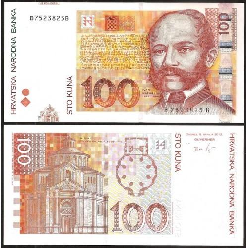 CROATIA 100 Kuna 2012