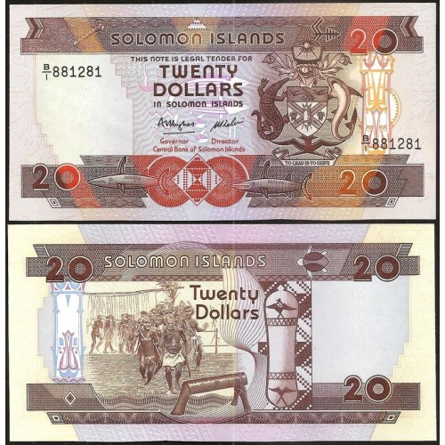 SOLOMON ISLANDS 20 Dollars...