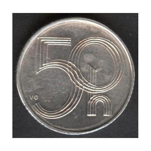 CZECH REPUBLIC 50 Haleru 1997