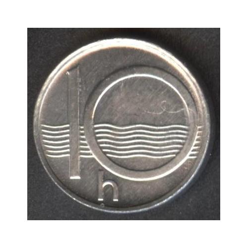 CZECH REPUBLIC 10 Haleru 1994