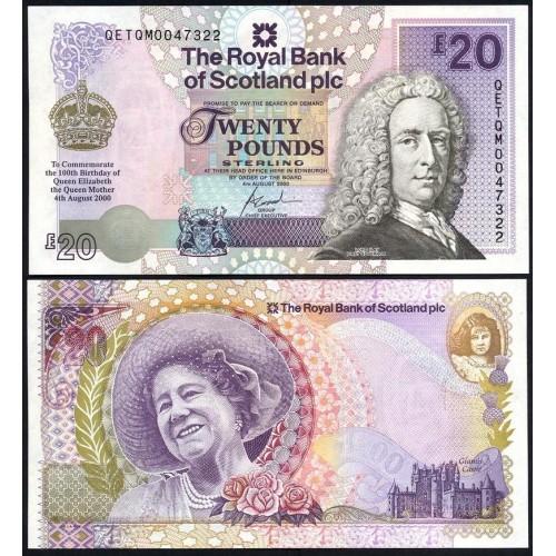 SCOTLAND 20 Pounds 2000...