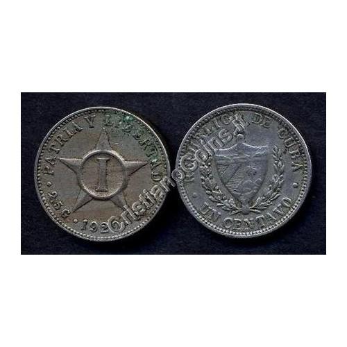CUBA 1 Centavo 1920