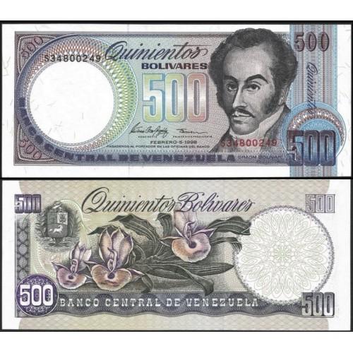 VENEZUELA 500 Bolivares 1998