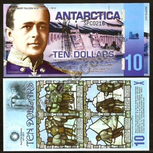 ANTARCTICA 10 Dollars...
