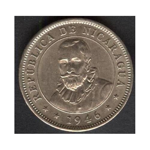NICARAGUA 10 Centavos 1946