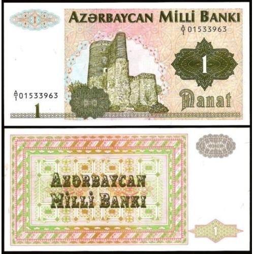 AZERBAIJAN 1 Manat 1992