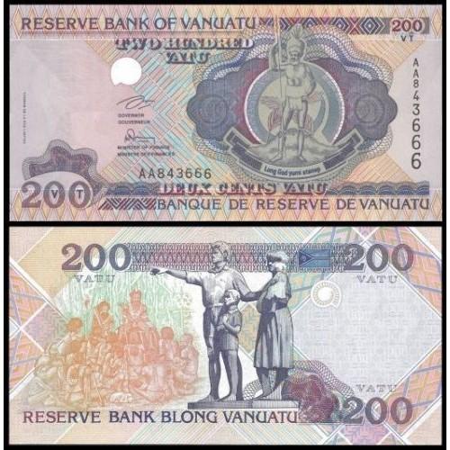 VANUATU 200 Vatu 1995